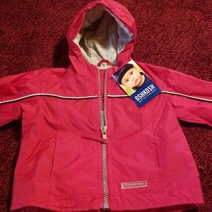 Kids Oshkosh red NWT jacket 6-9 m